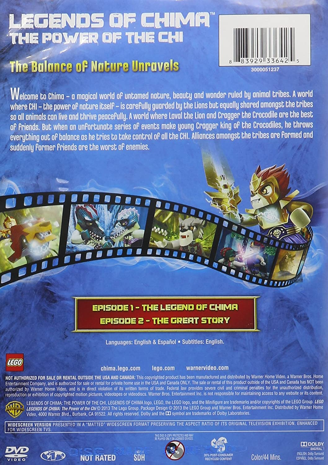 Amazon chima party supplies - Amazon Com Lego Legends Of Chima The Power Of The Chi Various Movies Tv
