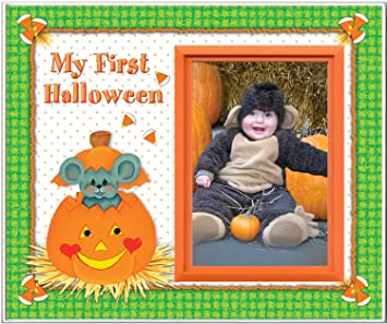 Amazon.com : My First Halloween - Picture Frame Gift : Childrens ...