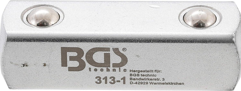 Bgs 313 1 Antriebsvierkant Außenvierkant 12 5 Mm 1 2 Für Art 312 Verbindungsvierkant Durchsteckvierkant Baumarkt