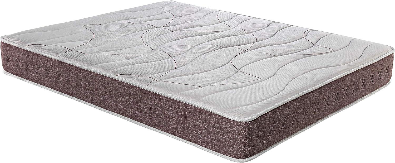 ROYAL SLEEP Colchón viscoelástico 90x200 firmeza Media, Alta Gama, Confort y adaptabilidad Total, Altura 24cm - Colchones Dormant Premium