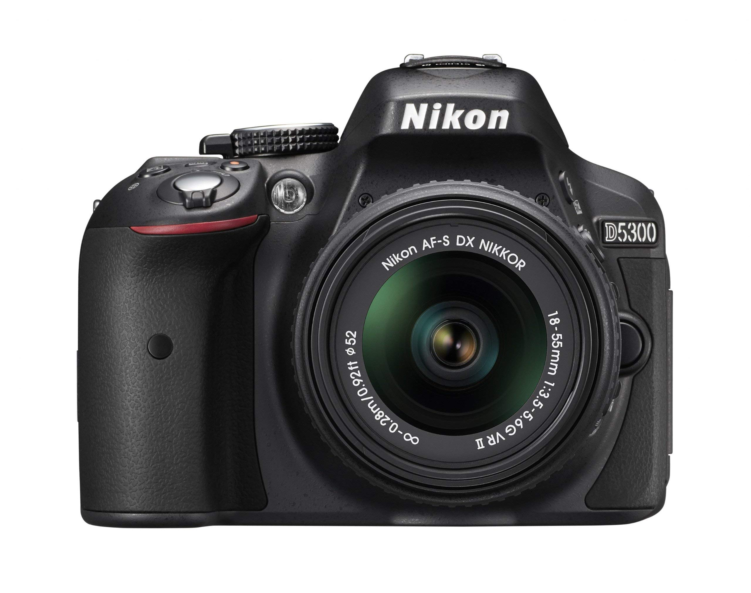 Nikon D5300 24.2 MP CMOS Digital SLR Camera with Built-in Wi-Fi and GPS Body Only (Black) by Nikon (Image #2)