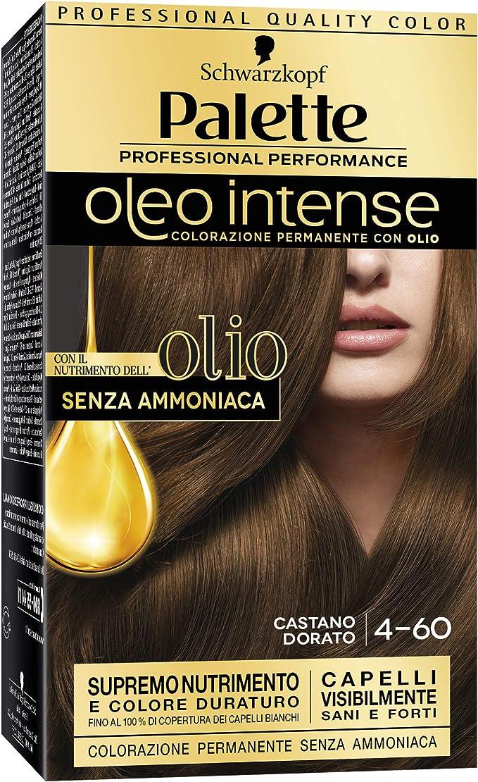 Palette Oleo Intense Permanent Hair Colour With Oils 4-60 ...
