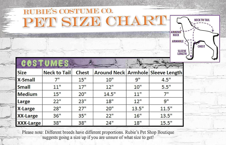 Rubie's Beetlejuice Pet Costume, Extra-Large Rubies Costume Company 580051 XL