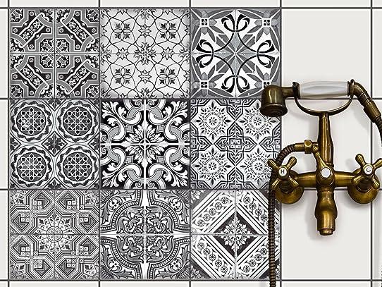 Stickers Carrelage - Salle De Bain Et Cuisine | Carrelage