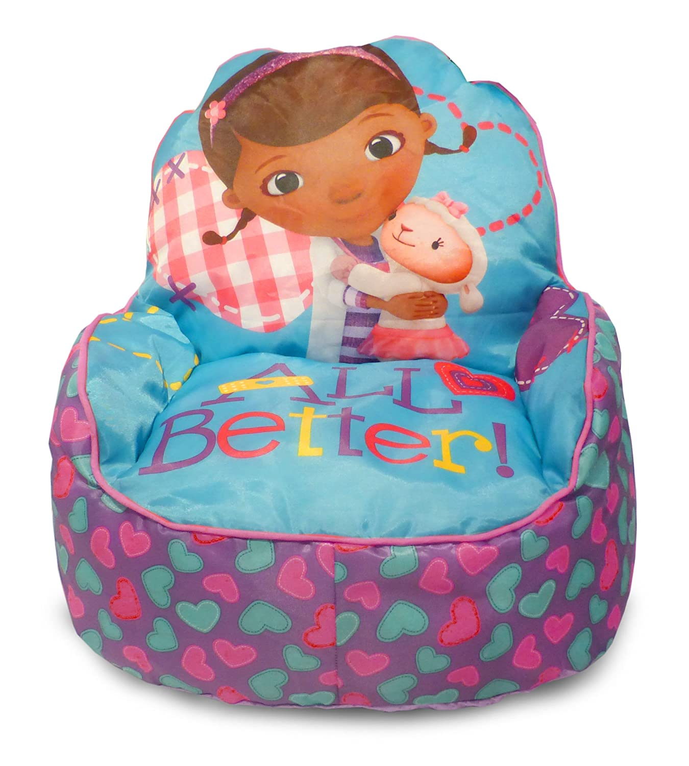 Amazon Disney Doc McStuffins Toddler Bean Bag Sofa Chair