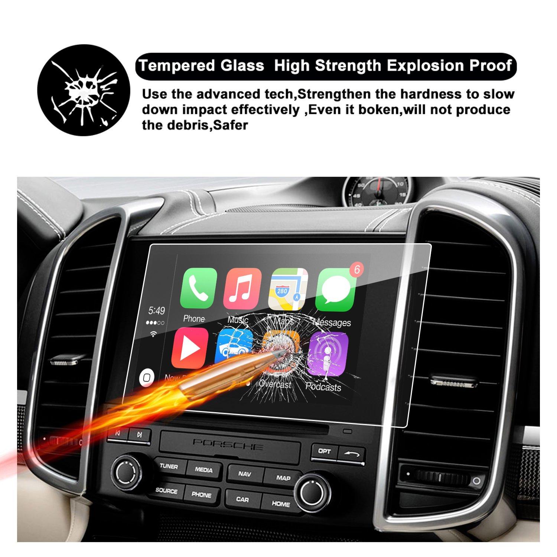 RUIYAr Porsche Macan COUPE//HATCHBACK Car Navigation Screen Protector,9-Inch In-Dash Screen Protecto High Clarity Anti-Fingerprint /& Anti-Scratch 2017-2018 Porsche Macan