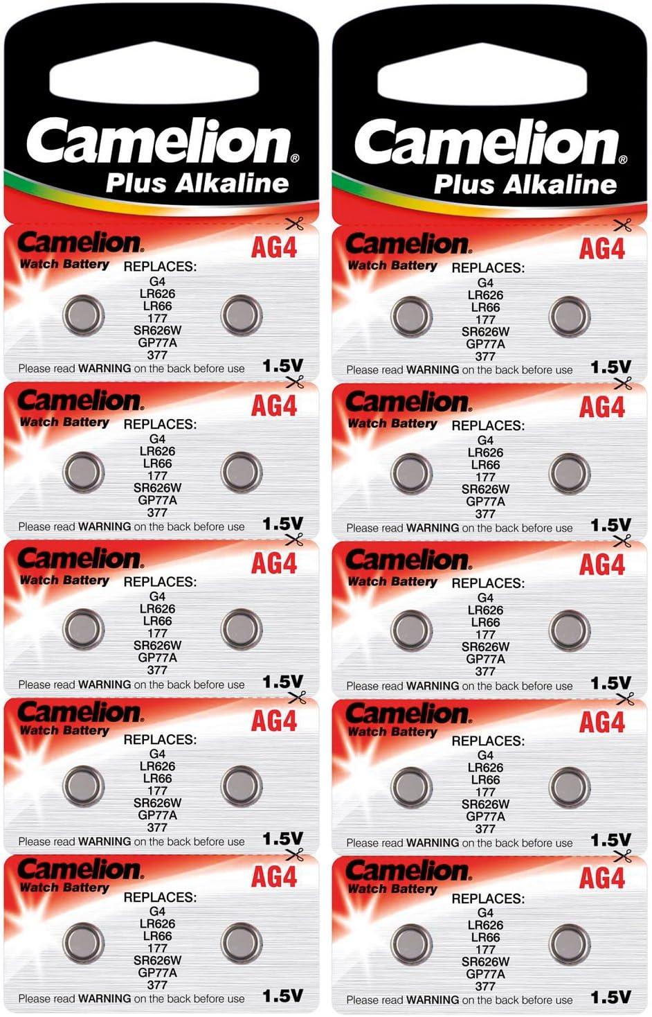 Camelion 12001004b20 Plus Alkaline Knopfzelle Elektronik