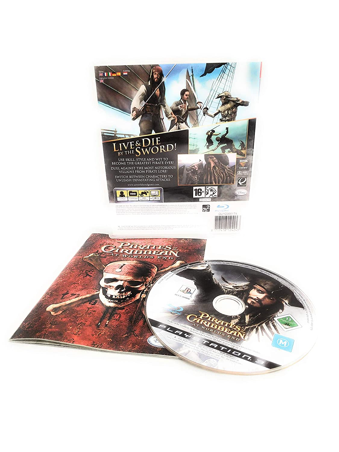 Amazon.com: Gra PS3/Piratas del Caribe: atworldsend: Video Games