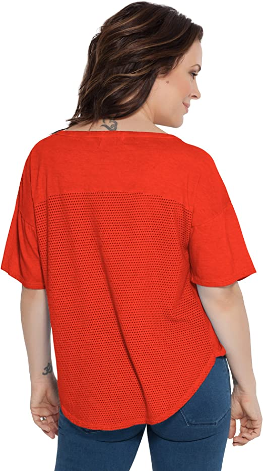Touch by Alyssa Milano Touch Second Base Reversible Tee Second Base Reversible Tee