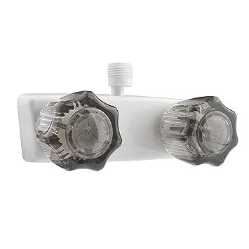 dura faucet dfsa100swt white rv shower faucet valve diverter
