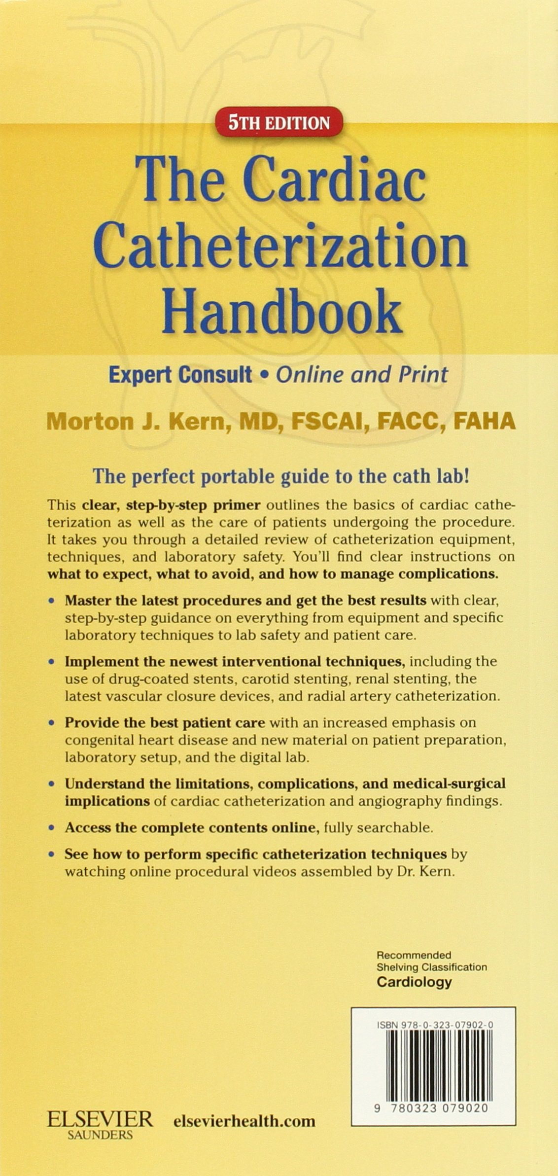 Buy Cardiac Catheterization Handbook: Expert Consult - Online and ...