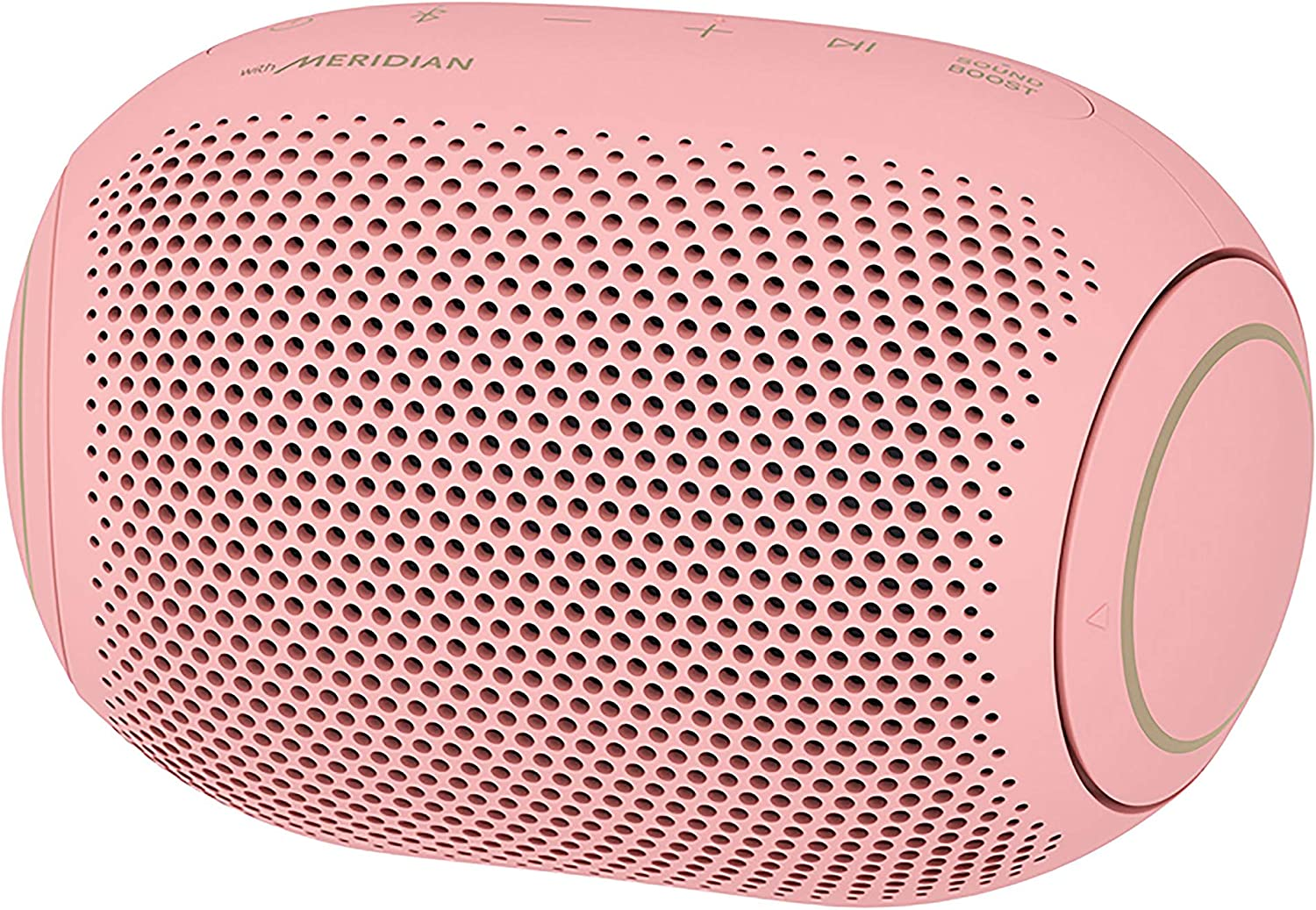 LG PL2P XBOOM Go Water-Resistant Wireless Bluetooth Party Speaker with Up to 10 Hours Playback – Bubble Gum, Pink