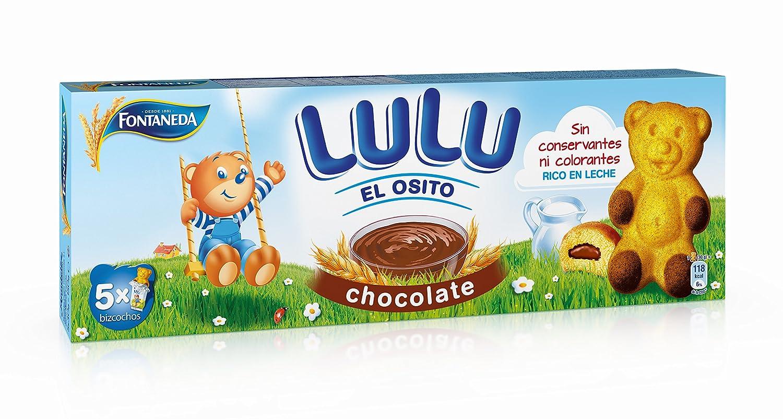 Fontaneda - Osito Lulu chocolate, 5 bolsitas: Amazon.es: Alimentación y bebidas