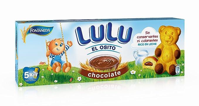 Fontaneda - Osito Lulu chocolate, 5 bolsitas