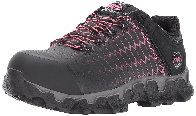 Timberland PRO レディース Powertrain Sport Raptek Alloy Toe EH Black Raptek With Pink 5.5 C/D US 5.5 C/D USBlack Raptek With Pink B01MR15Z9I