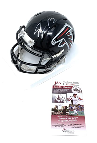 best sneakers 7065e c269a Amazon.com: Mohamed Sanu Atlanta Falcons Signed Autograph ...