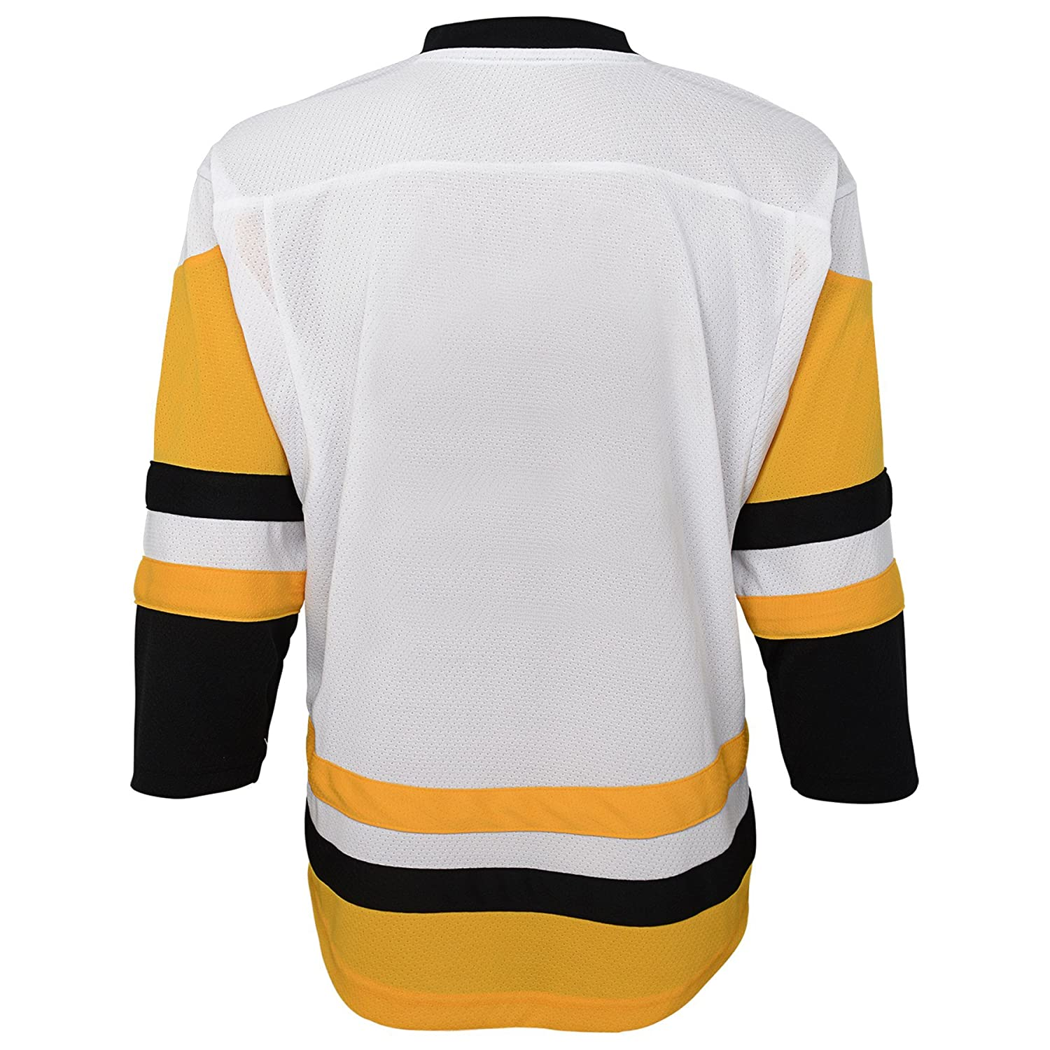 White NHL Pittsburgh Penguins Youth Outerstuff Replica Jersey-Away 12-14 Youth Large