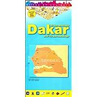 Dakar et Ses Environs/Dakar and its Surroundings (1/16000 Map)