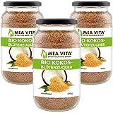 MeaVita Bio Kokosblütenzucker Premium Qualität Kokoszucker in praktischem Schraubglas (1950g)