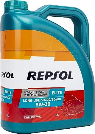 Repsol RP135U55 Aceite de Motor para Coche, Multicolor, 5 L: Amazon.es: Coche y moto