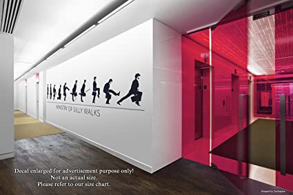 Amazon.com: Ministry Of Silly Walks Wall Decals Stickers ...