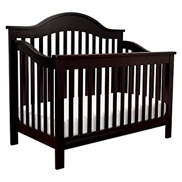 DaVinci Jayden 4-in-1 Convertible Crib, Ebony