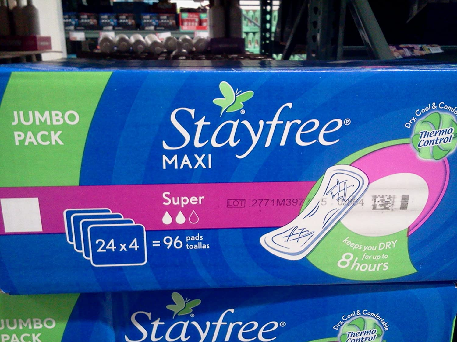 Amazon.com: Stayfree Maxi Super 96 Pads Jumbo Pack: Health & Personal Care