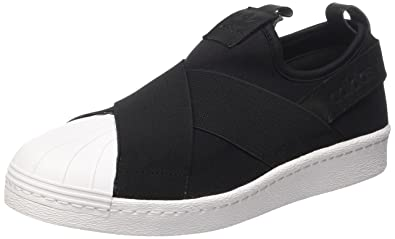 detailed look d4479 8e861 adidas Superstar Slip-on, Sneakers Basses Mixte Adulte, Noir (Core Black 0