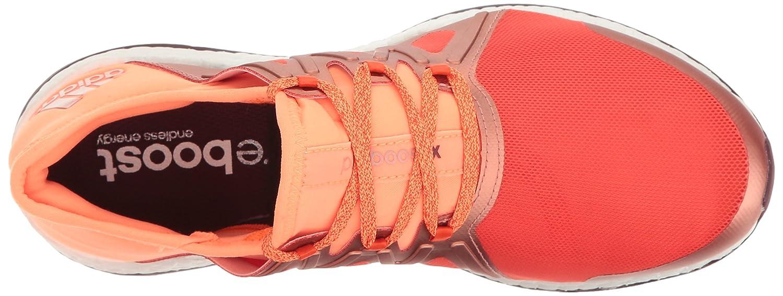 adidas Women's Pureboost Xpose B01H6A8JH2 8.5 B(M) US|Energy/Glow Orange/Light Maroon