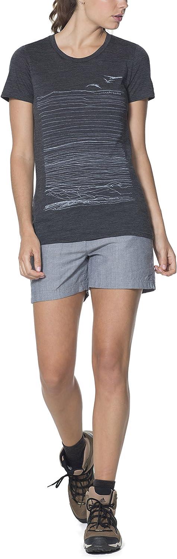 Icebreaker Merino Womens Tech-Lite Short Sleeve Low Crewe Athletic Shirt