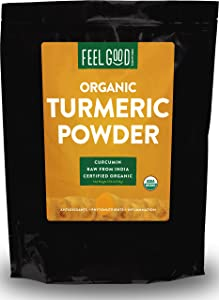 best turmeric supplement Organic Turmeric Powder By Feel Good Organics