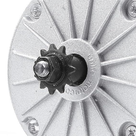 Amazon.com: MY1016 24 V 250 W 350 W cepillo DC Motor, imán ...