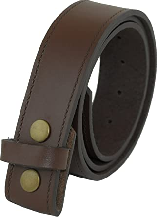 Ossi Ashford Ridge Cuir véritable 40mm Appuyez sur goujon enfichable  ceinture - noir ou marron  Amazon.fr  Vêtements et accessoires f190b63d67f