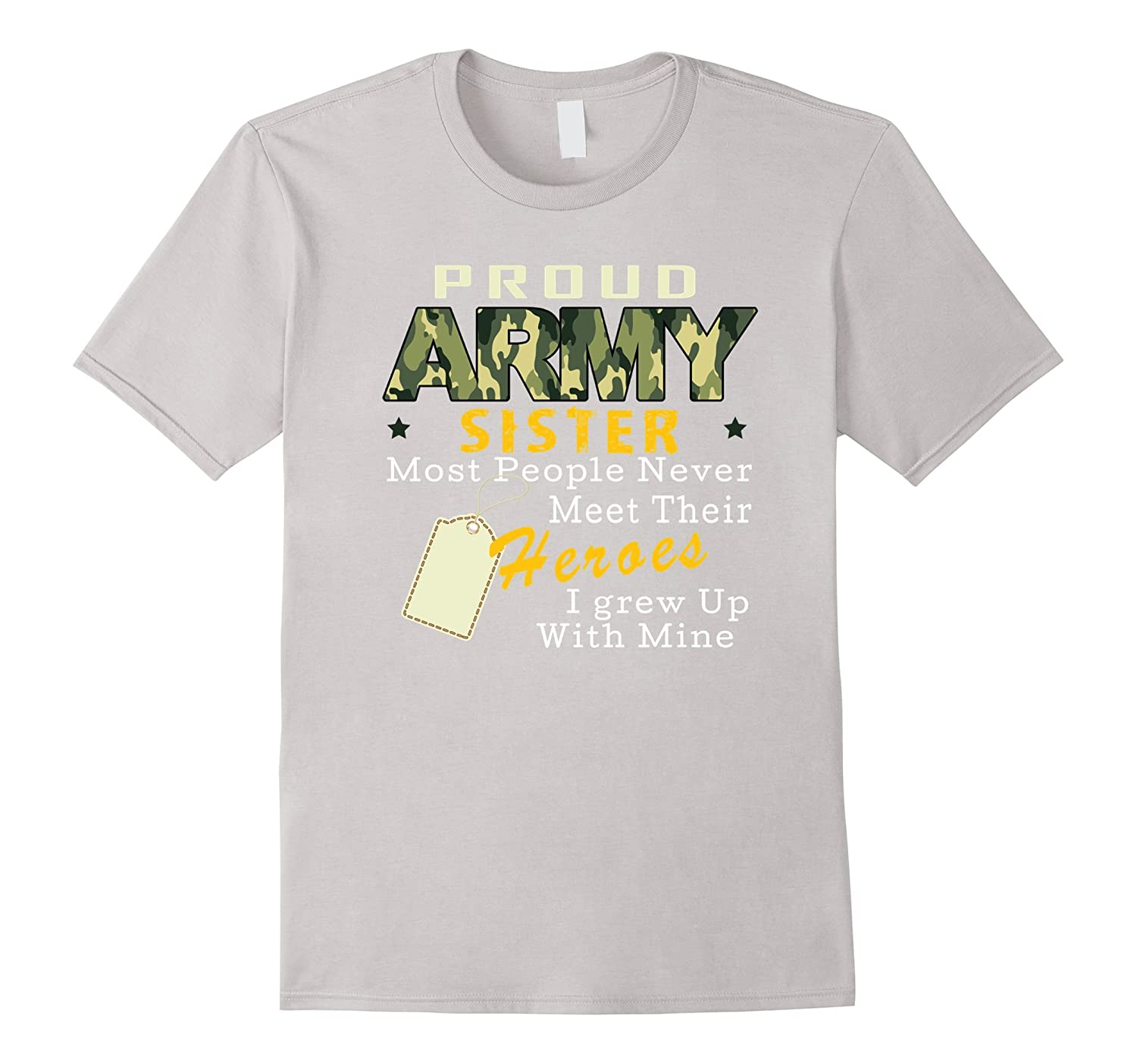 sister t shirts proud army sister tee goatstee. Black Bedroom Furniture Sets. Home Design Ideas
