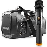 Vonyx ST014 Draagbare PA Speaker met Draadloze UHF Microfoon
