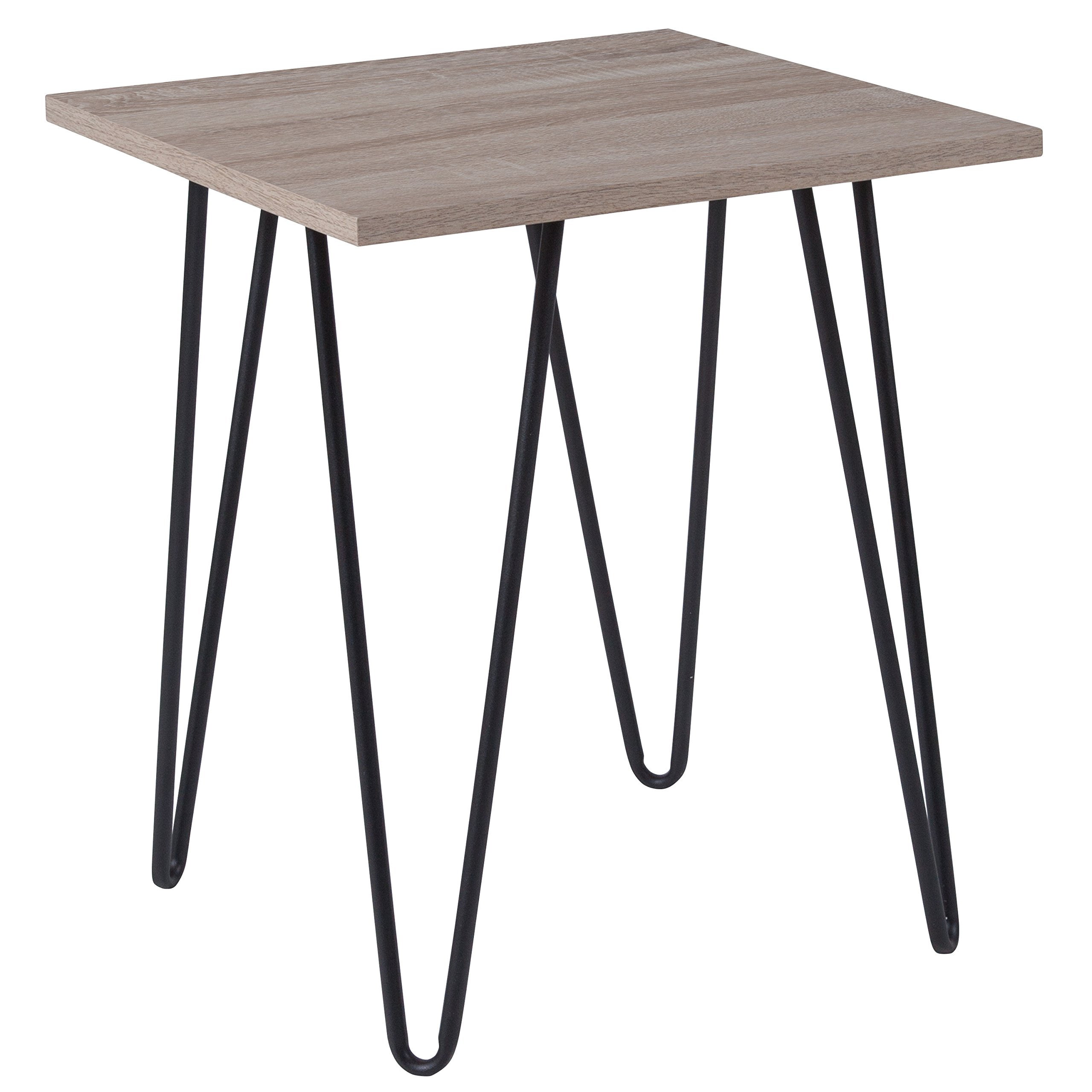 Driftwood End Table: End Table Driftwood Wood Grain Gray Furniture Plant Stand