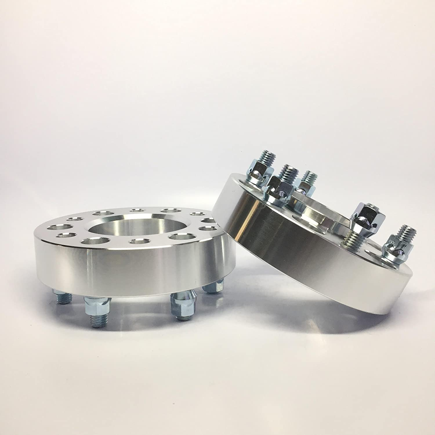 4 Pieces 2 50mm Lug Centric Wheel Spacers Bolt Pattern 5x5 to 5x5 5x127 Thread Pitch 1//2 Studs Center Bore 78.3mm Center Bore