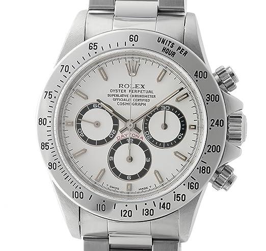 Rolex Daytona automatic-self-wind Mens Reloj 16520 (Certificado) de segunda mano: Rolex: Amazon.es: Relojes