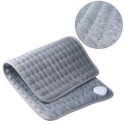 Sinbide - Cojín eléctrico de calor para espalda, hombro ...