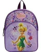 Sac à dos Disney la fée clochette. Coloris violet. Pour filles en maternelle.