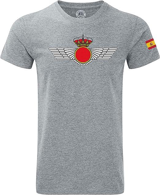 Imperio - Camiseta Ejercito del Aire España. Fuerza Aérea Aviación Española - San Andrés (M): Amazon.es: Ropa y accesorios