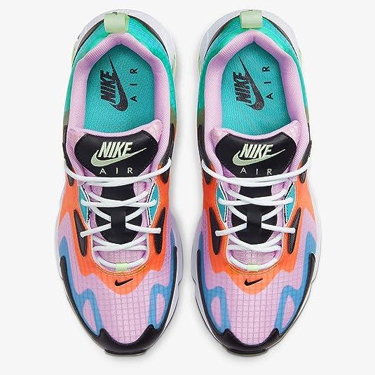 Amazon.com | Nike Womens Air Max 200 Se Casual Running Shoe ...