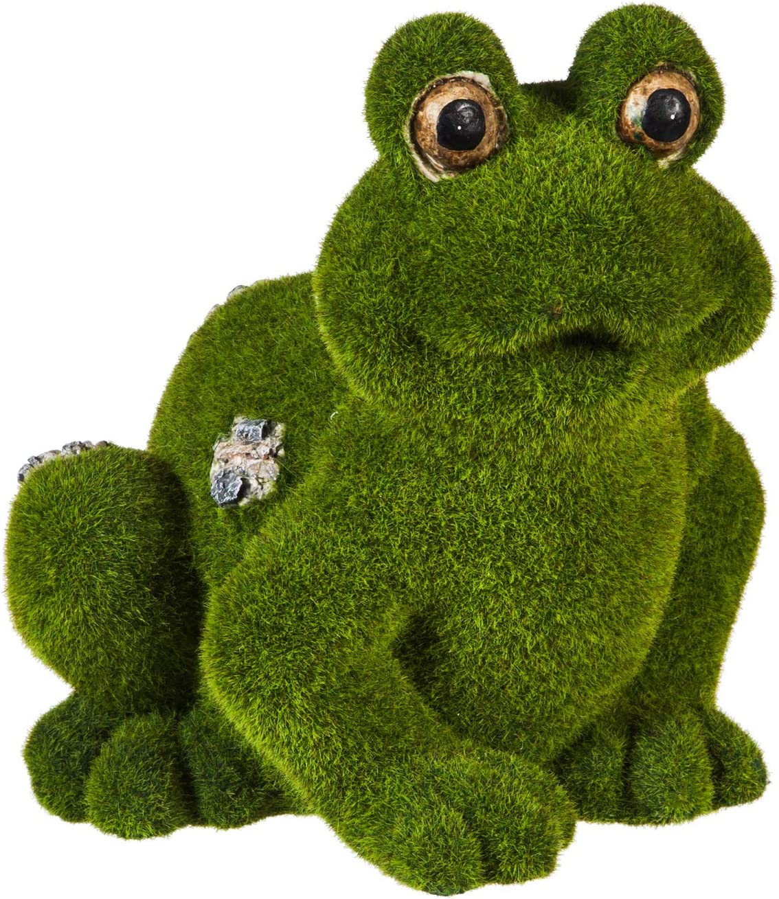New Creative Evergreen Garden Frocked 14 inch Outdoor Frog Figurine