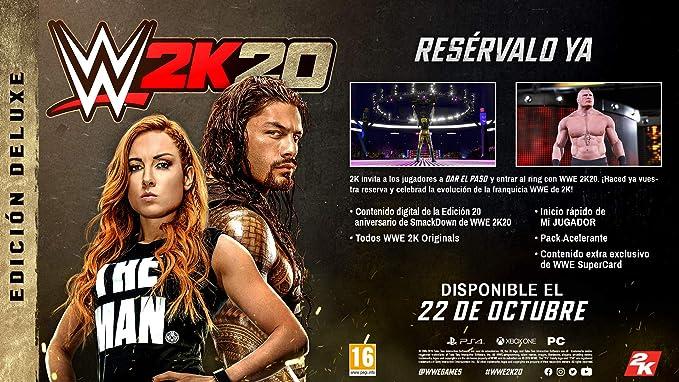 WWE 2K20 - Deluxe Edition: Amazon.es: Videojuegos