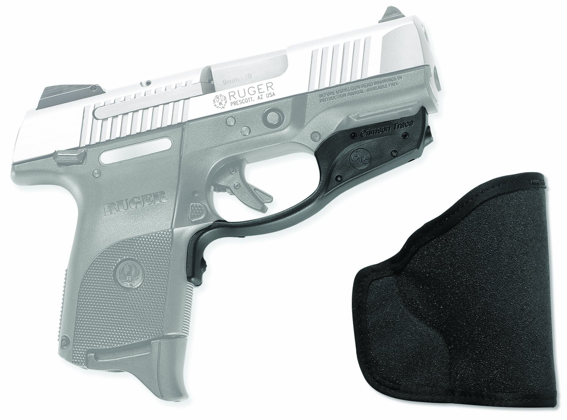 Crimson Trace LG-449 Laserguard Red Laser Sight for Ruger SR9c Pistols with Holster by Crimson Trace (Image #1)