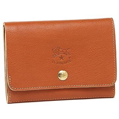 28e6975c07d2 イルビゾンテ 財布 レディース IL BISONTE C0522 P 145 二つ折り財布 CARAMEL [並行輸入品