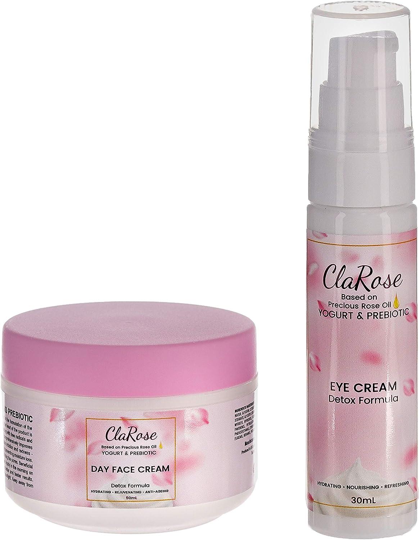 Kit facial antienvejecimiento y purificador ClaRose - Crema facial ...
