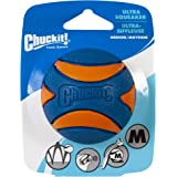 "Chuckit! Ultra Squeaker Ball Medium 2.5"", 1Pack, Blue & Orange"