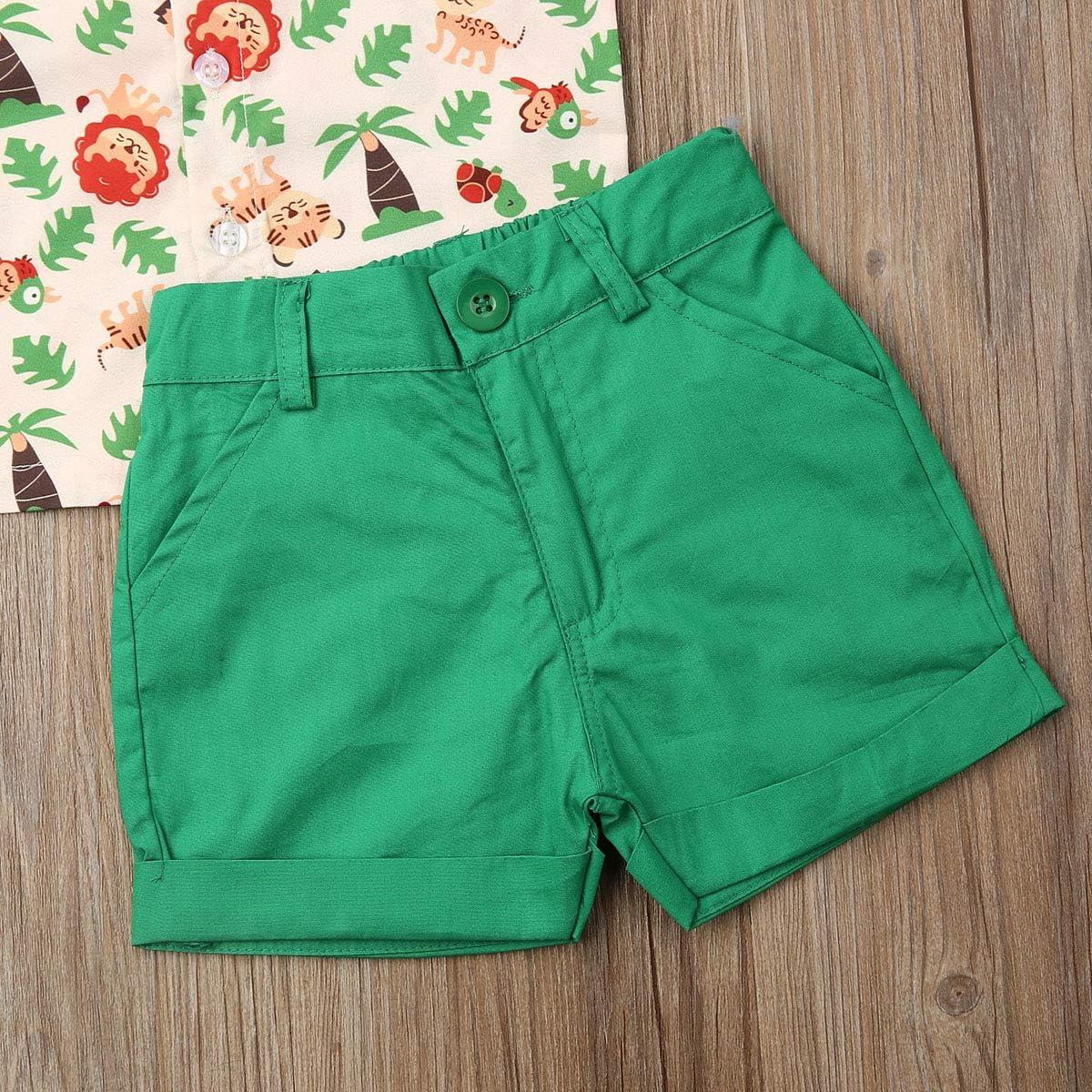 Shorts 2pcs Gentlemen Outfits Playwear Set Baby Boy Pineapple Bowtie Shirt Shirts