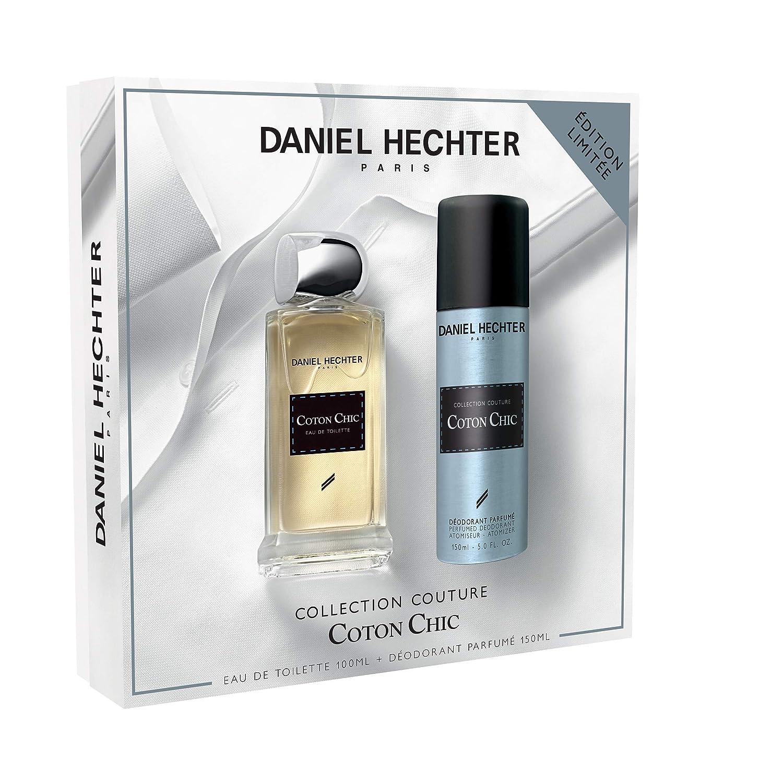 DANIEL HECHTER Ecrin Collection Couture Coton Chic Eau de Toilette 100 ml + Déodorant 150 ml WFR22835